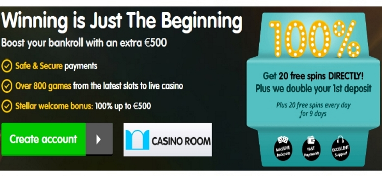 casino room bonus codes